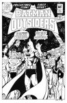 Batman and the Outsiders 1 Cover Recreation by dalgoda7
