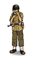 French Indochina Paratrooper by siwawuth