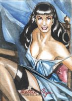 Bettie Page  411 by Csyeung