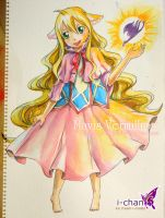Mavis Vermillion , watercolor by icecream80810