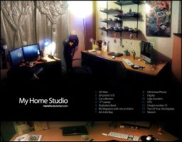 My home studio by mauricioestrella