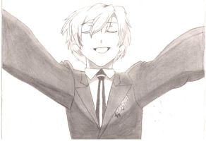 Tamaki in pencil by plumpgrl