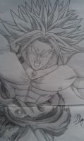 Broly by 1The-God-Of-Art