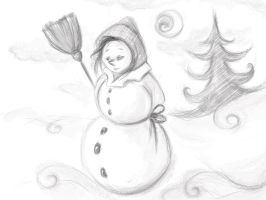 snowgirl by selectik