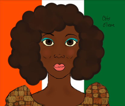 APH Cote d'Ivoire -- aka incorrectly 'Ivory Coast' by obsessivebutterflies