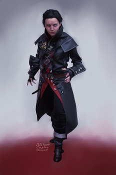 Dettlaff Blood and Wine Cosplay by Nati13321