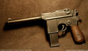 German Mauser C96 Custom Prop2 by JohnsonArmsProps