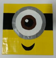 Minion face by DuctileCreations