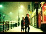 Bethnal Green Road ll Snow by Pineapple-Chunk