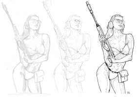 chick with a gun-3 stages by admat