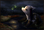 Hello, little one- Painting by ImaLittleCreeper