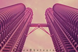 Twin Tower by sendok