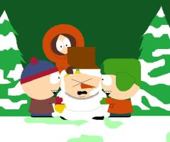 South Park - Snowman by Endless-Rainfall
