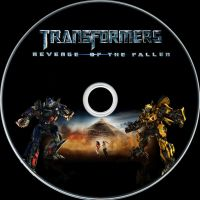 Transformers 2 Disc Label by RoadWarrior00