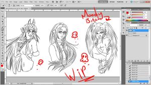 M.C: Bust WIPs by BaGgY666