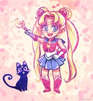 ChibiSailorMoon by visualkid-n