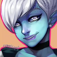 Finished icon commission by ItaSlipy
