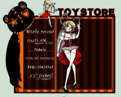 Toy Store App--Giselle by Little-Imp-Rin