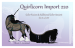 Quirlicorn Custom Import 220 by Astralseed