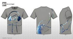 Music T-shirt design by Tooyp