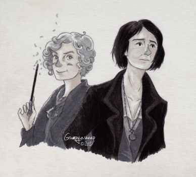 Fantastic Beasts - Goldstein Sisters by Grumpy-O-Sheep