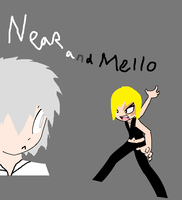 near and mello by invaderSMEET