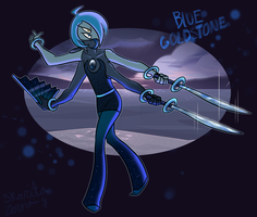 SU Fusion: Blue Goldstone by Zerna