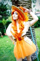 Nami - One Piece - Wake Up! Opening - II by Daisy-Cos