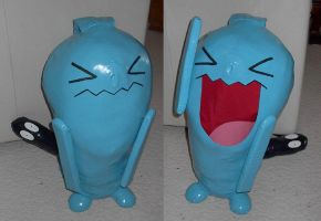 Wobbuffet the Patient Pokemon by waynekaa