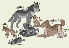 woof adopts by Ink--Chan