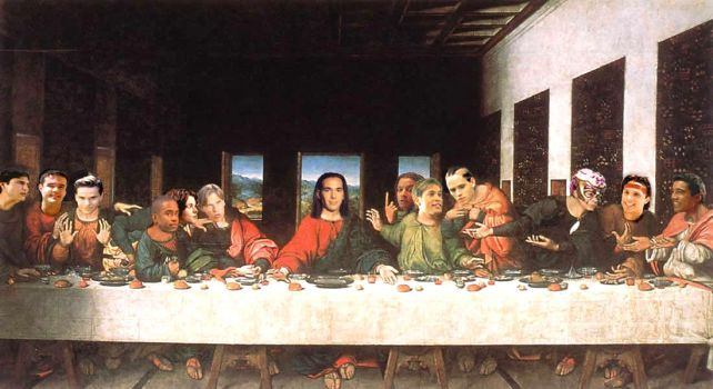 The Red Supper by JohnnyPitstain