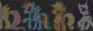 Maille Little Pony! Chainmaille Inlay Patterns by Terreflare