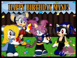 Baby Manu's Bday by CCgonzo12
