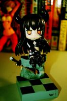 GSC Nendoroid Black Gold Saw by sarujima