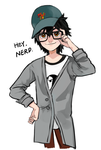 [doodle][BH6] Hiro in Tadashi's clothes by CHAYI105