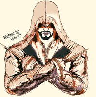 colored assassins creed by VECT0RYA