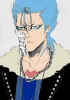 Oil Painting: Grimmjow by Arisu-Ami-Chan