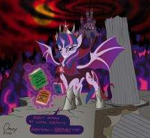 Evil Queen Twilight by Dragon-Mordak