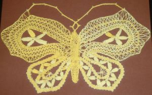 Butterfly Series - Yellow by Myrthilla