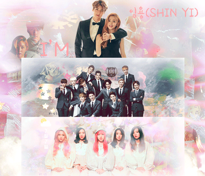 EXO AND RED VELVET by SHINYIDESIGN0408