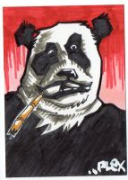 Gangsta Panda by MarshallPlex