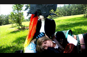 Cosplay: Link and Midna by Kiotoko-Solo