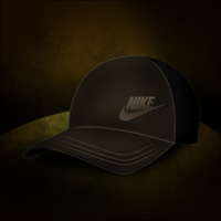 Nike cap vector by azevedo9