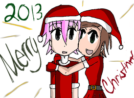 Merry Christmas 2013 by EDemonswordsmanCrona