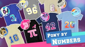 Pony By Numbers by KP-ShadowSquirrel