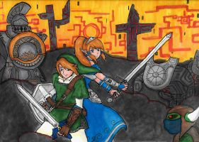 Its Dangerous To Go Alone by Midna627