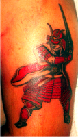 Samurai in progress... by Sartanico