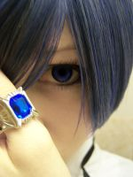 Ciel Phantomhive Stare of Doom by RachellaJH