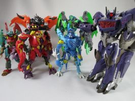 I present predacons by Doubledealer93