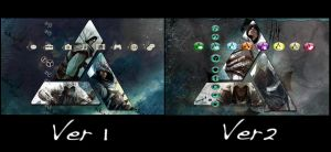 Assassins Creed: Altair, Ezio, Connor PS3 Theme 2 by saphira-wine